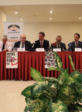 """""""GOLDEN APRICOT"""" WILL PRESENT PROJECTS IN COOPERATION WITH EMBASSIES AND INTERNATIONAL ORGANIZATIONS"""